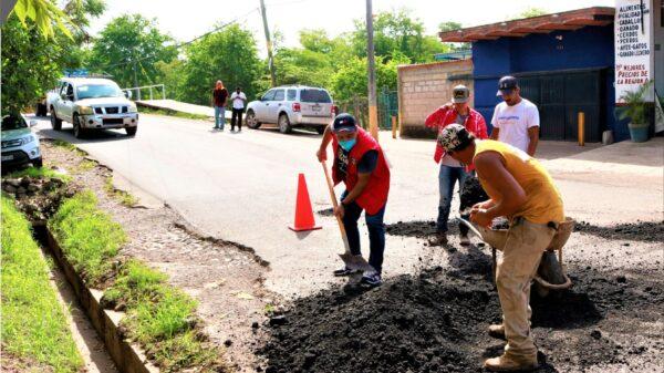 """""""son obras que traerán beneficio y justicia social para el Municipio"""", agregó el alcalde Joao Torres."""
